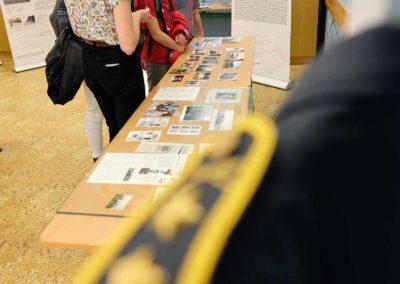 Výstava o československých letcích v RAF, Gymnázium Havlíčkův Brod