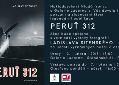 Křest knihy Ladislava Sitenského 312. peruť