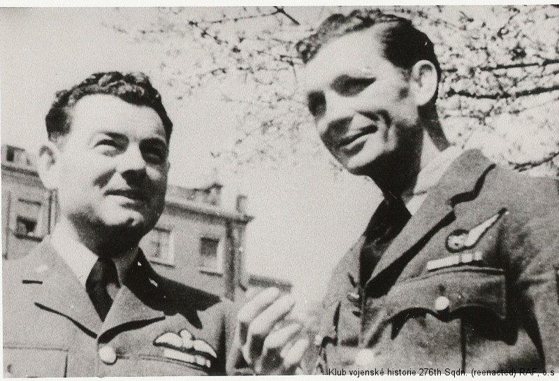Vilém Jakš, palubní střelec 311. československé bombardovací perutě