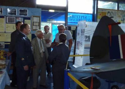 Manston – Spitfire and Hurricane Memorial Museum – Opening ceremony